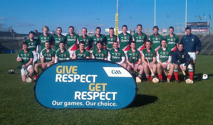 The Mayo Senior Hurling side who drew with Roscommon in the NHL Round 1 tie in McHale Park on Sunday