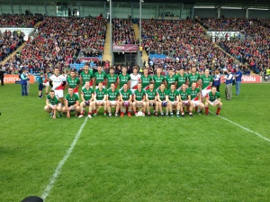 The Mayo Senior Team who contested the Connacht Semi Final Vs Roscommon.