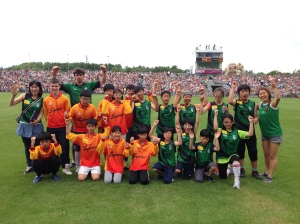 The Seoul Gaels Panel in McHale Park, July 21st 2013