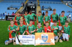 Scoil Rafteiri Castlebar runners up of Div 1 in the Allianz Cumannn na mBunscol, Hurling final in Mc Hale Park. Picture; Frank Dolan.